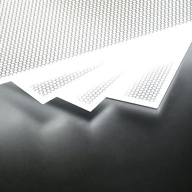 superior led light panel produced via laser dotting technology